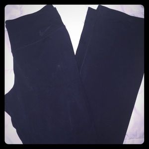 Nike boot cut yoga pants